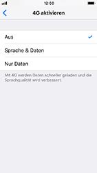 Apple iPhone SE - Netzwerk - Netzwerkeinstellungen ändern - 7 / 7