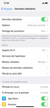 Apple iPhone X - iOS 12 - Internet et roaming de données - Configuration manuelle - Étape 8