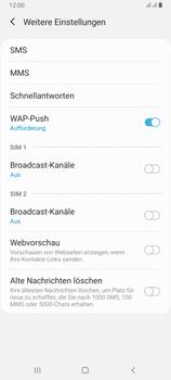 Samsung Galaxy A80 - SMS - Manuelle Konfiguration - Schritt 7