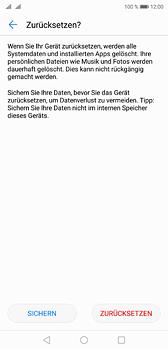 Huawei P20 - Fehlerbehebung - Handy zurücksetzen - 10 / 11