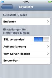 Apple iPhone 3G - E-Mail - Konto einrichten - Schritt 17