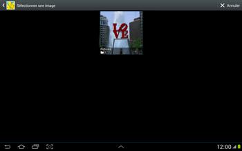 Samsung N8000 Galaxy Note 10-1 - E-mail - envoyer un e-mail - Étape 11