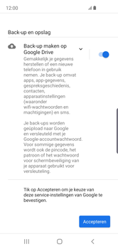 Samsung Galaxy S10e - apps - account instellen - stap 19