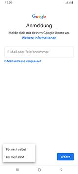 Samsung Galaxy A70 - Apps - Einrichten des App Stores - Schritt 6