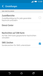 HTC One Mini 2 - SMS - Manuelle Konfiguration - Schritt 8