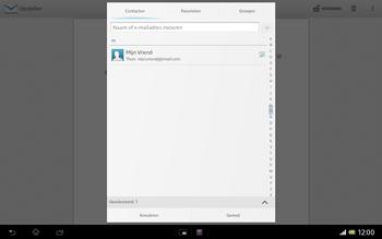 Sony SGP321 Xperia Tablet Z LTE - E-mail - e-mail versturen - Stap 6