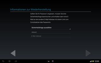 Sony Xperia Tablet Z LTE - Apps - Konto anlegen und einrichten - Schritt 13