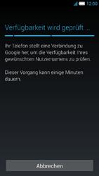Alcatel Idol S - Apps - Konto anlegen und einrichten - 9 / 25