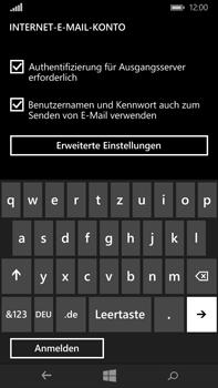 Microsoft Lumia 640 XL - E-Mail - Konto einrichten - Schritt 14