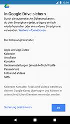 Google Pixel - Apps - Konto anlegen und einrichten - 17 / 21