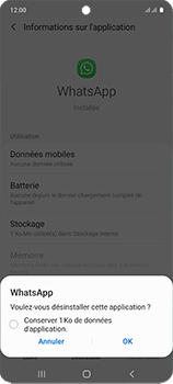 Samsung Galaxy A51 - Applications - Comment désinstaller une application - Étape 7