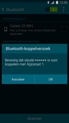 Samsung Galaxy S5 mini 4G (SM-G800F) - Bluetooth - Headset, carkit verbinding - Stap 7