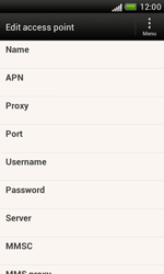 HTC T328e Desire X - Internet - Manual configuration - Step 9