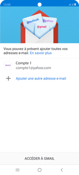 Samsung Galaxy S20 FE - E-mails - Ajouter ou modifier votre compte Yahoo - Étape 14