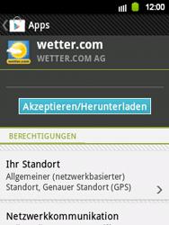 Samsung S5360 Galaxy Y - Apps - Herunterladen - Schritt 16