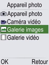 Doro Phone Easy 621 - Photos, vidéos, musique - Envoyer une photo via Bluetooth - Étape 4