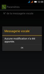 Alcatel OT-4033X Pop C3 - Messagerie vocale - configuration manuelle - Étape 13
