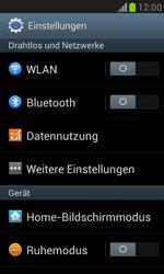 Samsung I8190 Galaxy S3 Mini - WLAN - Manuelle Konfiguration - Schritt 4