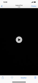 Apple iPhone XR - Photos, vidéos, musique - Créer une vidéo - Étape 12