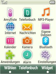 Samsung F480-TouchWiz - SMS - Manuelle Konfiguration - Schritt 3