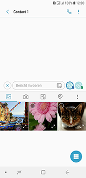 Samsung Galaxy J6 - MMS - hoe te versturen - Stap 8
