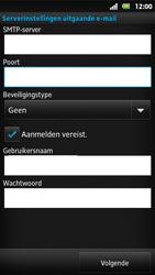 Sony MT27i Xperia Sola - e-mail - handmatig instellen - stap 13