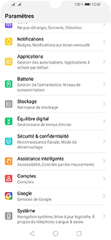Huawei Y6 (2019) - Applications - Supprimer une application - Étape 3