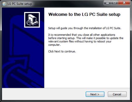 LG D955 G Flex - Software - Installing PC synchronisation software - Step 6