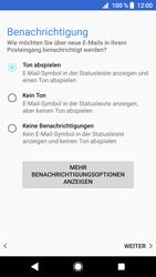 Sony Xperia XZ1 - E-Mail - 032b. Email wizard - Yahoo - Schritt 11