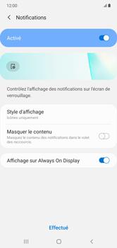 Samsung Galaxy Note 10+ - Sécuriser votre mobile - Activer le code de verrouillage - Étape 11