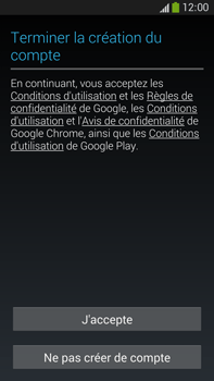 Samsung Galaxy Note 3 - Applications - Créer un compte - Étape 15