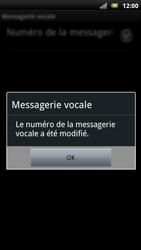Sony Xperia Neo - Messagerie vocale - Configuration manuelle - Étape 8
