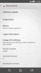 Sony Xperia Z2 - Software - Installing software updates - Step 6