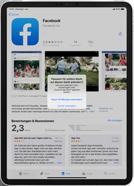 Apple iPad 9.7 (2017) - iPadOS 13 - Apps - Einrichten des App Stores - Schritt 26