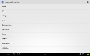 Samsung Galaxy Tab 2 10-1 - Internet - Manuelle Konfiguration - 11 / 25