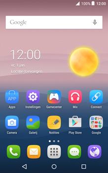 Alcatel Pixi 3 (8) - SMS en MMS - Ziggo Mobiel ondersteunt geen MMS - Stap 1