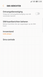 Samsung Galaxy S7 edge (SM-G935F) - Android Nougat - SMS - SMS-centrale instellen - Stap 8