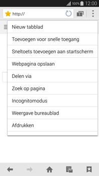 Samsung Galaxy Note 4 4G (SM-N910F) - Internet - Hoe te internetten - Stap 16
