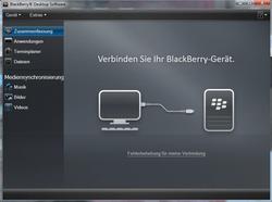 BlackBerry 8520 Curve - Software - Sicherungskopie Ihrer Daten erstellen - Schritt 4