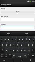HTC One Max - E-mail - manual configuration - Step 8