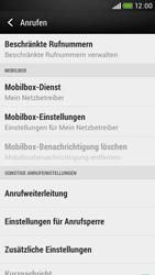 HTC Desire 601 - Anrufe - Rufumleitungen setzen und löschen - 5 / 9