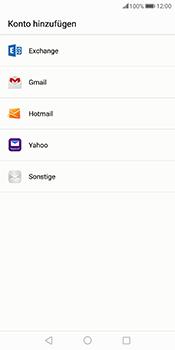 Huawei Mate 10 Pro - E-Mail - Konto einrichten - Schritt 4