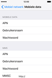Apple iPhone 4S iOS 9 - MMS - handmatig instellen - Stap 5