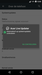 Acer Liquid Z530 - Software updaten - Update installeren - Stap 6