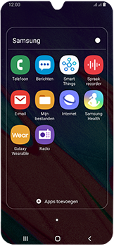 Samsung Galaxy A40 - SMS - handmatig instellen - Stap 4