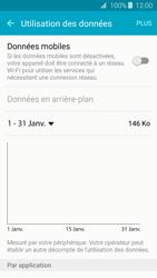 Samsung Galaxy J3 (2016) - Internet et connexion - Désactiver la connexion Internet - Étape 6