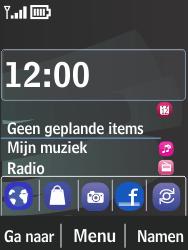 Nokia 301-1 - SMS - Handmatig instellen - Stap 1