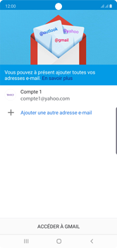 Samsung Galaxy Note10 - E-mail - Configuration manuelle (yahoo) - Étape 15