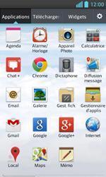 LG E460 Optimus L5 II - E-mail - Envoi d