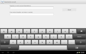Sony Xperia Tablet Z LTE - E-mail - Configurazione manuale - Fase 16